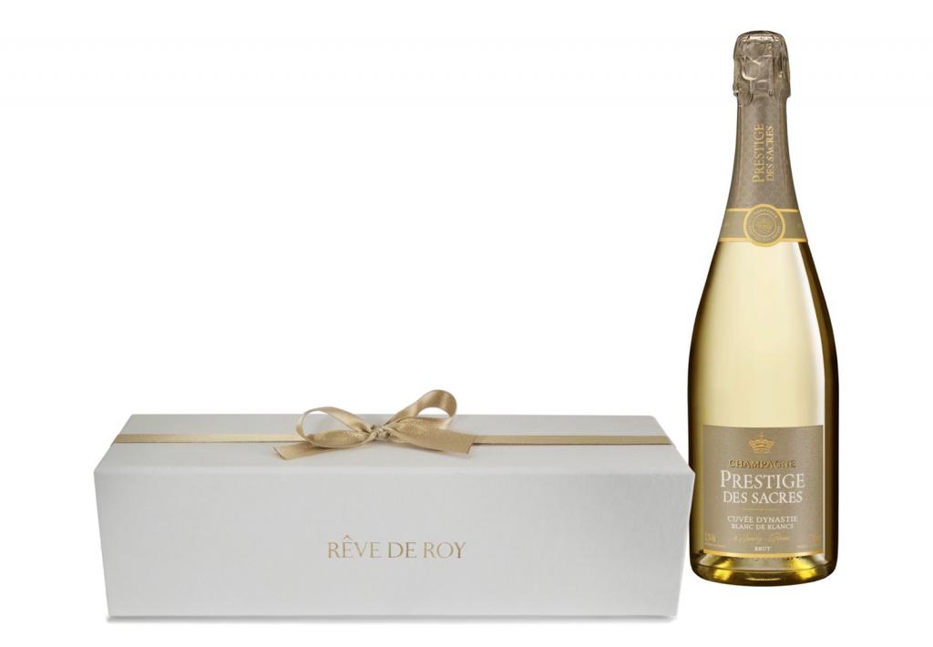 Coffret Prestige Champagne Bouteille 75cl