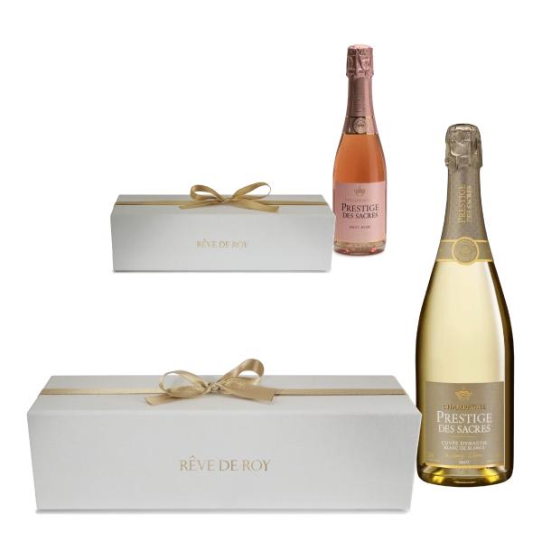 RÊVE DE ROY Coffrets Prestige Champagne // Prestige Champagne Gift boxes
