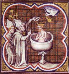Baptême de Clovis - Clovis' Baptism